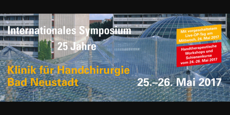 Titelbild Internationales Symposium Klinik für Handchirurgie Bad Neustadt