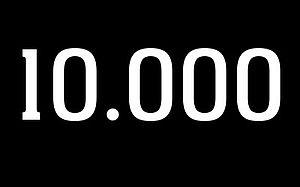 10000 als Bild