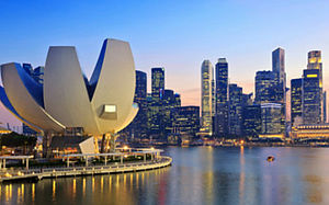 Panorama of Singapore